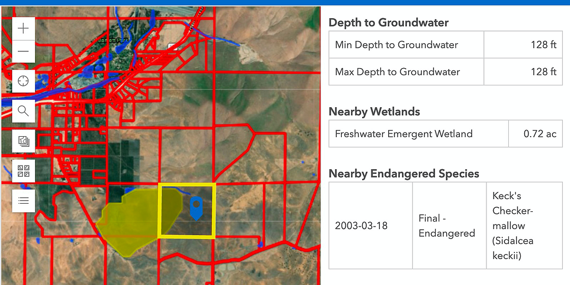 Endangered Species & Wetlands in Details